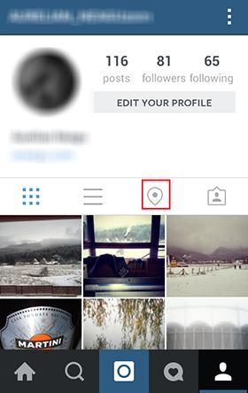Instagram-location