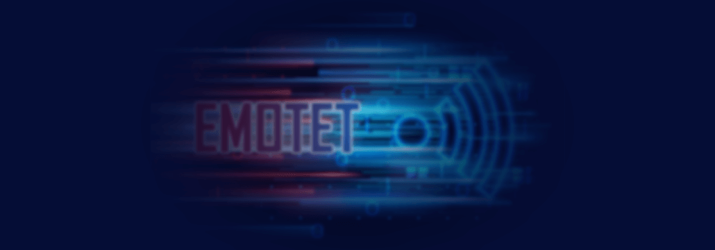 Emotet malware cover artwork
