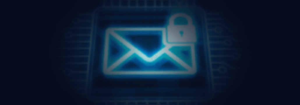 Concept photo for email security by Heimdal
