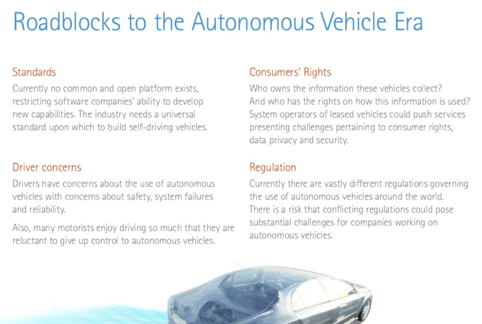 autonomous vehicle challenges and regulation