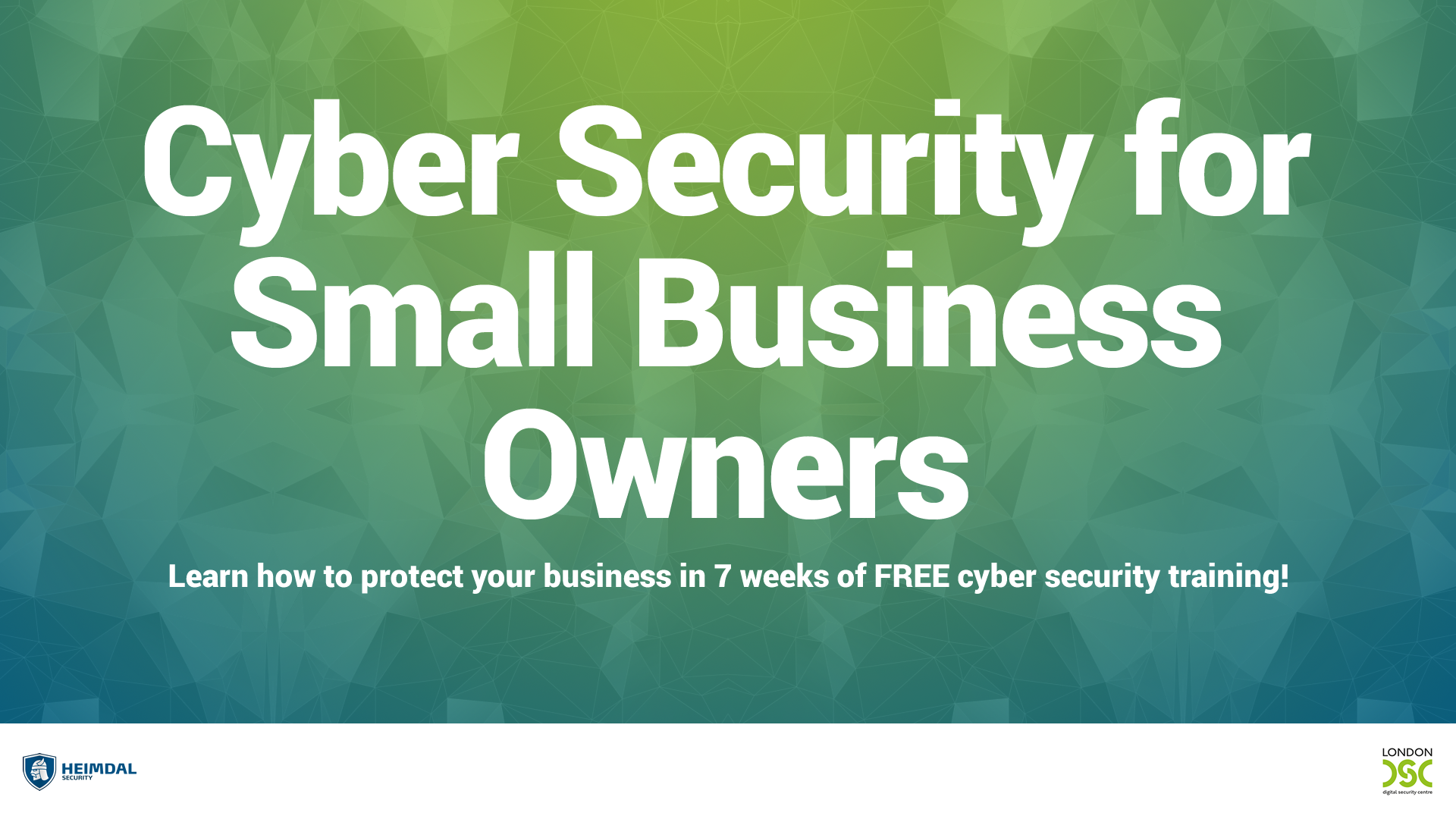 Just Launched  Cyber Security For Small Business Owners In
