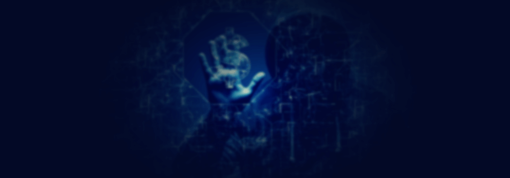crypto virus - concept image