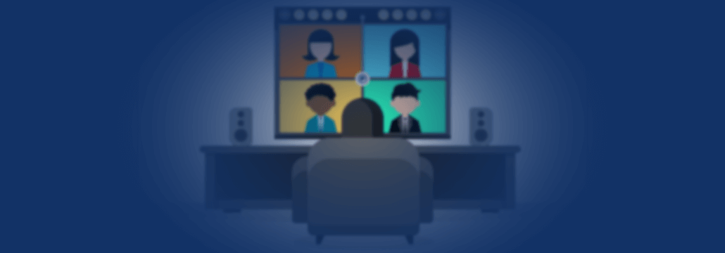 Secure Video Conferencing Concept Photo