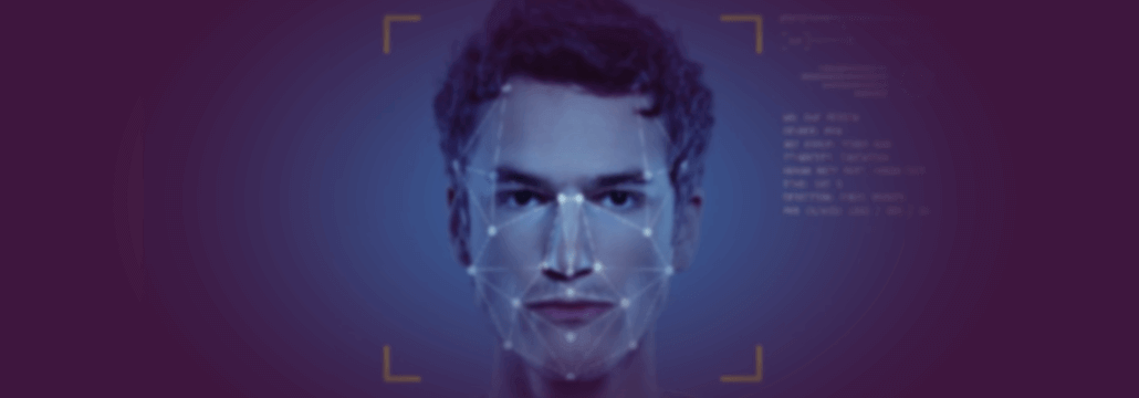 facial recognition software conceptual photo