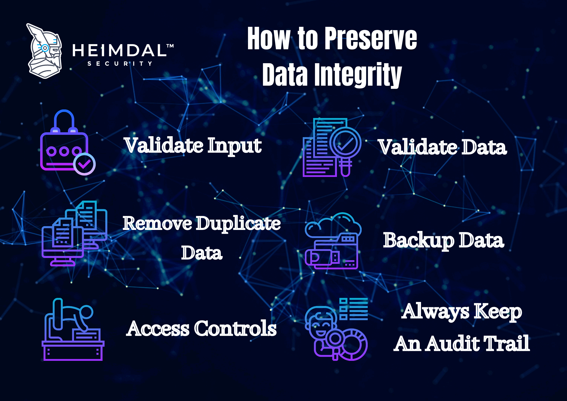 How to Preserve Data Integrity