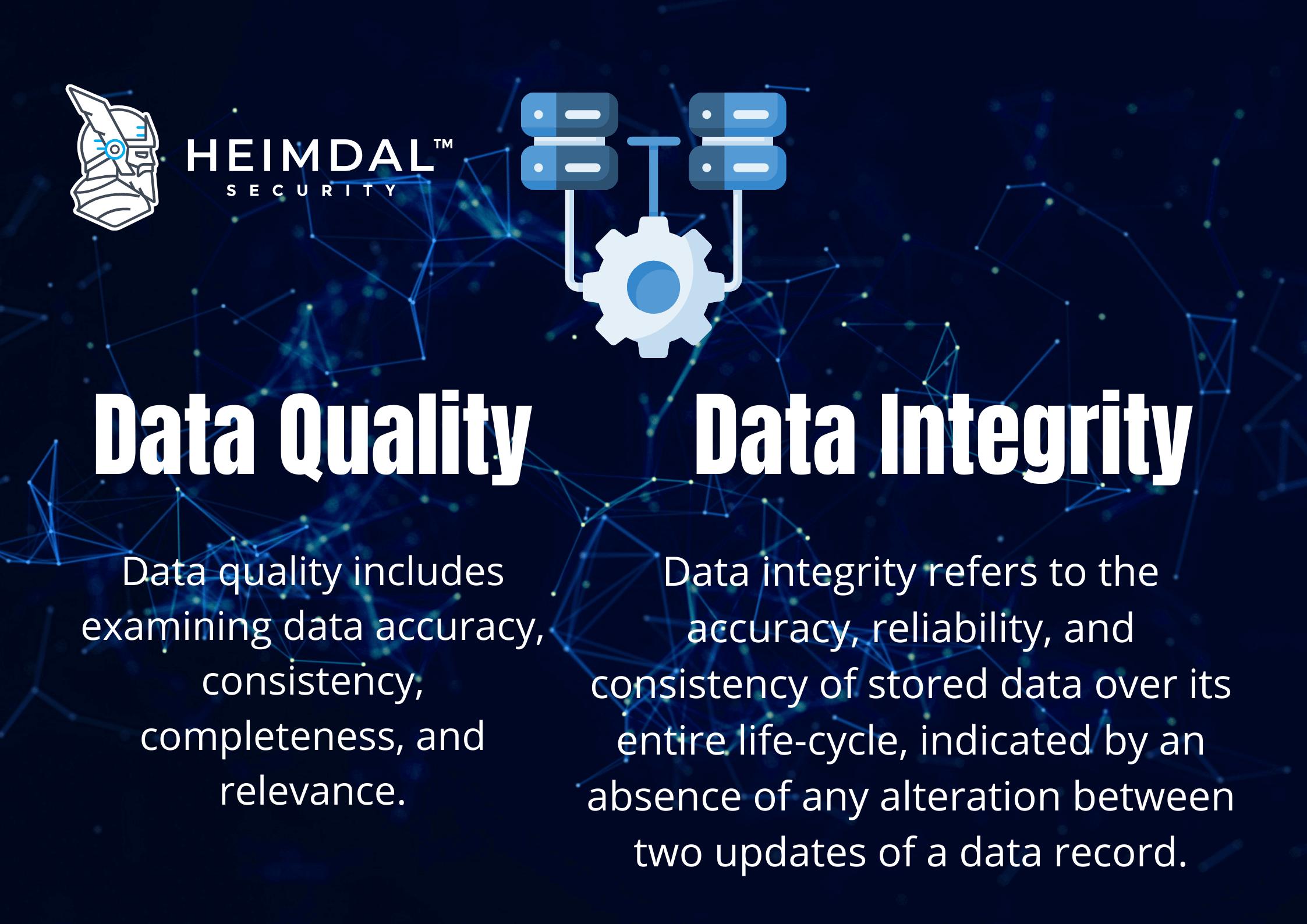Data Quality vs Data Integrity