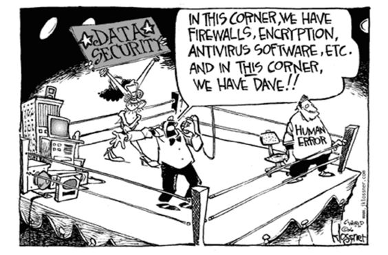 Human Error vs Data Security