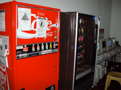 Internet coke machine 1982 first iot device