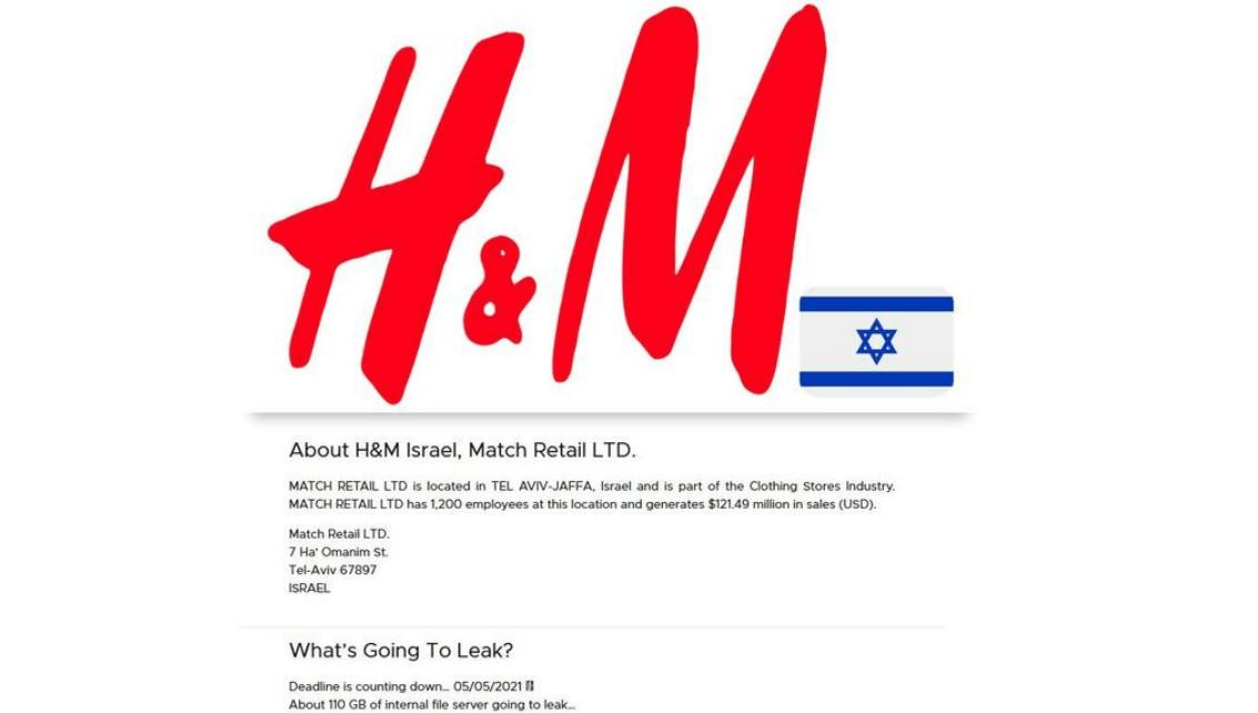 H&M data leak