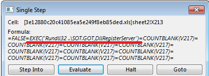 IcedID Banking Trojan Execution Picture