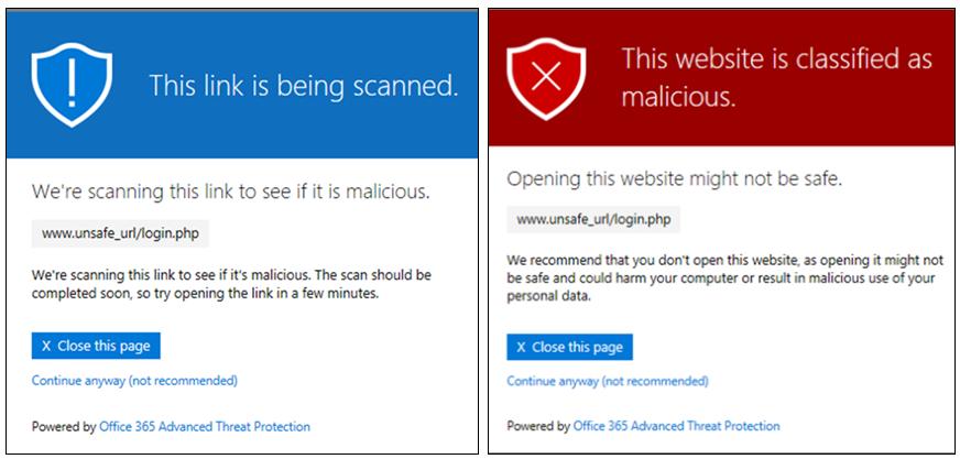 Microsoft Teams Safe Links