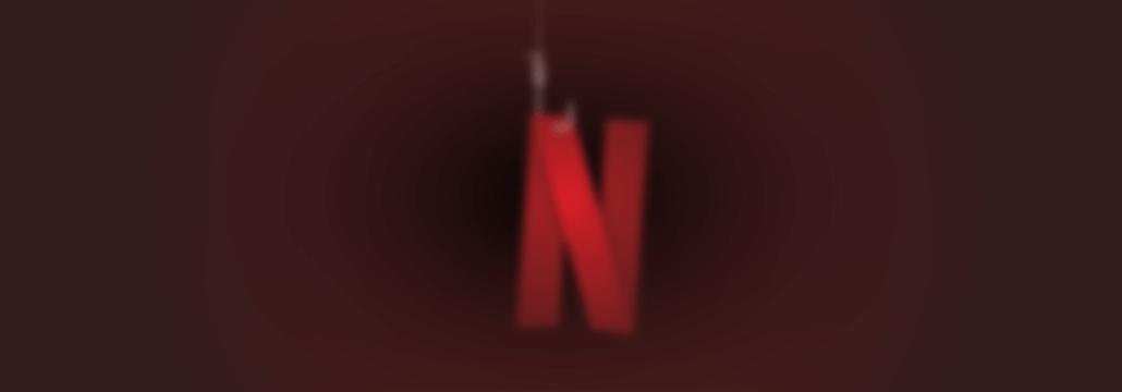 netflix phishing campaign concept art