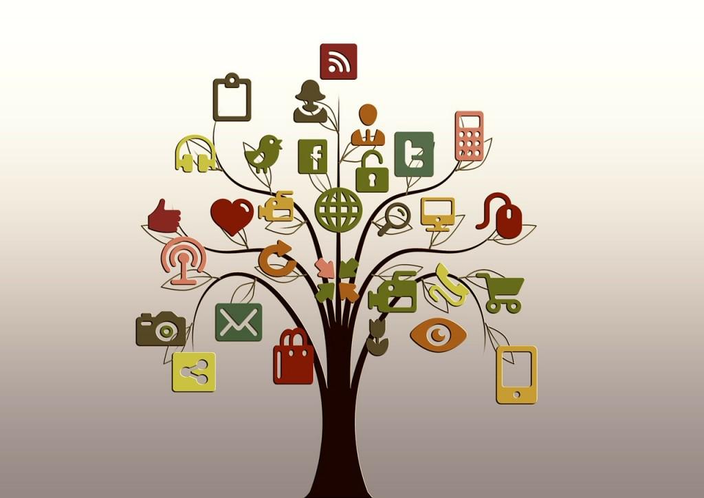 Social Networks Tree