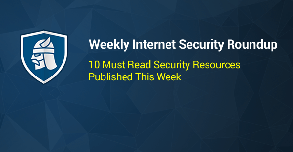 Weekly Security Roundup