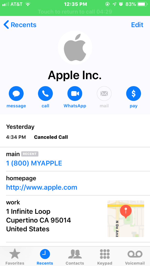Phone Call Apple ID Phishing Scams