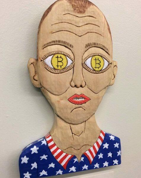 brett hunter bitcoin art