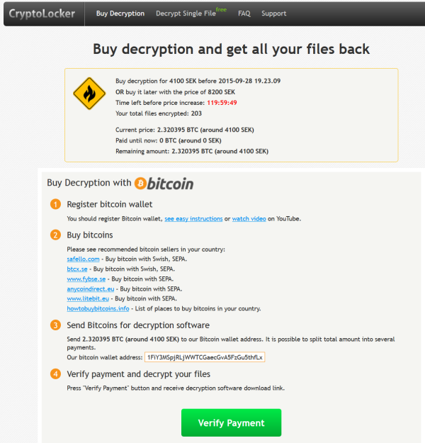 decryption instructions