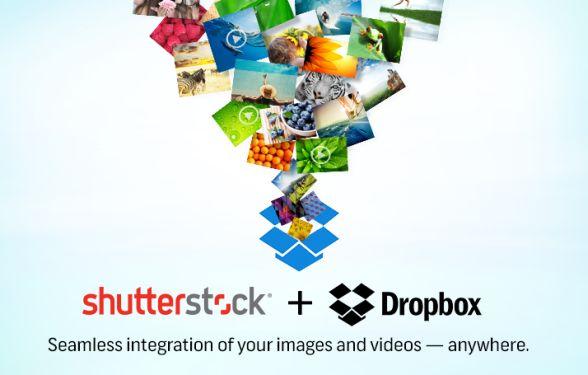 dropbox shutterstock