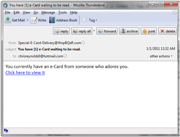 ecard scam online scams christmas