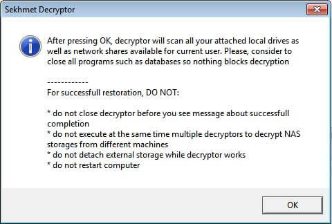 egregor ransomware - decryptor