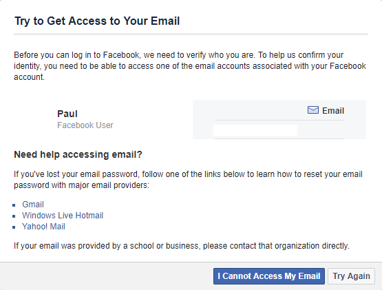 If, following these steps, you are still unable to access the email you  used to register your account, then chances are your Facebook account is  lost for ...