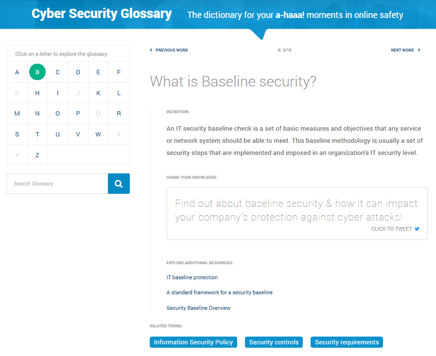 heimdal cyber security glossary definition