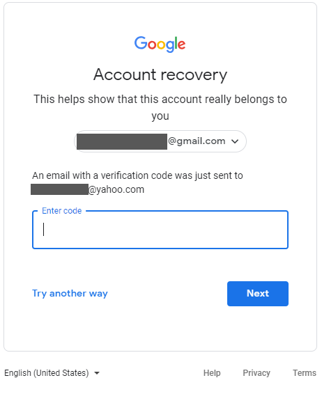 forgot second security question yahoo