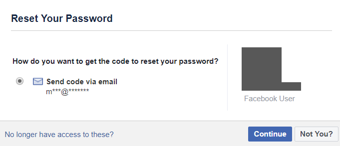 Facebook login id finder  Yvette's question  2019-07-14