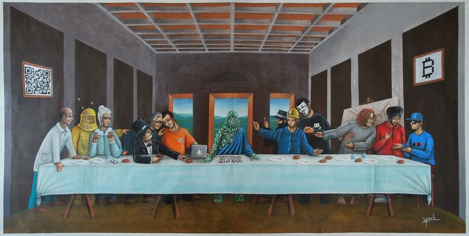 last supper bitcoin project