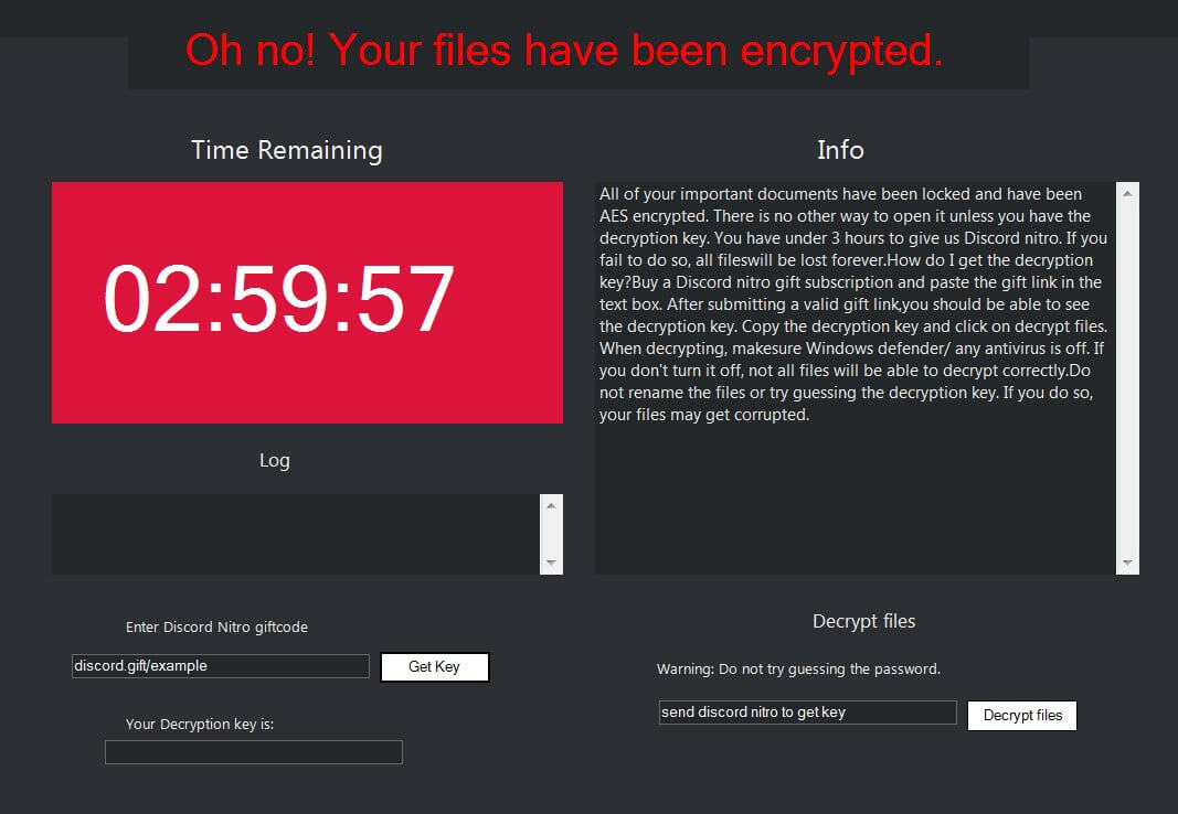 NitroRansomware image heimdal security