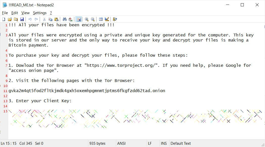 ransom-note image heimdal security