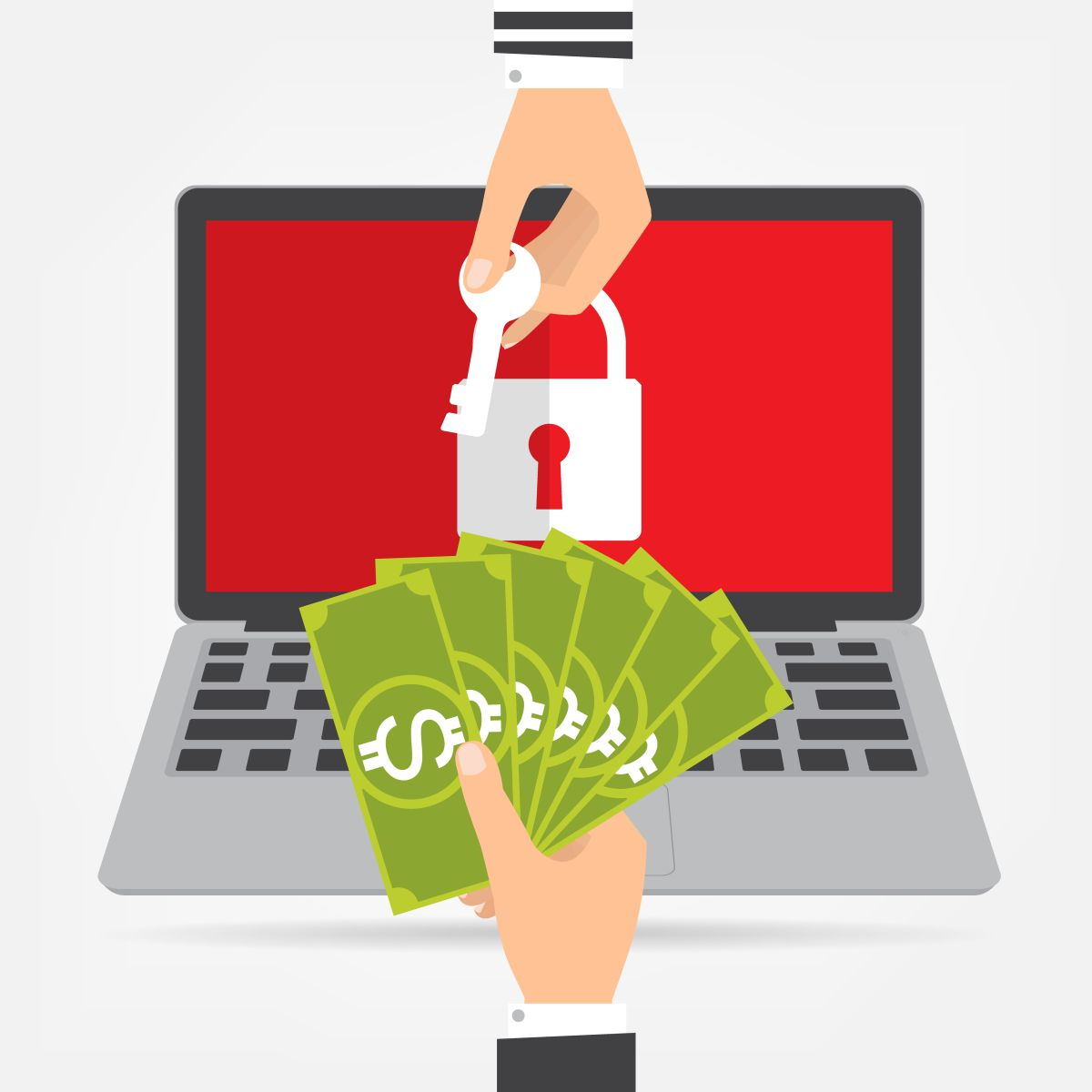 ransomware illustration
