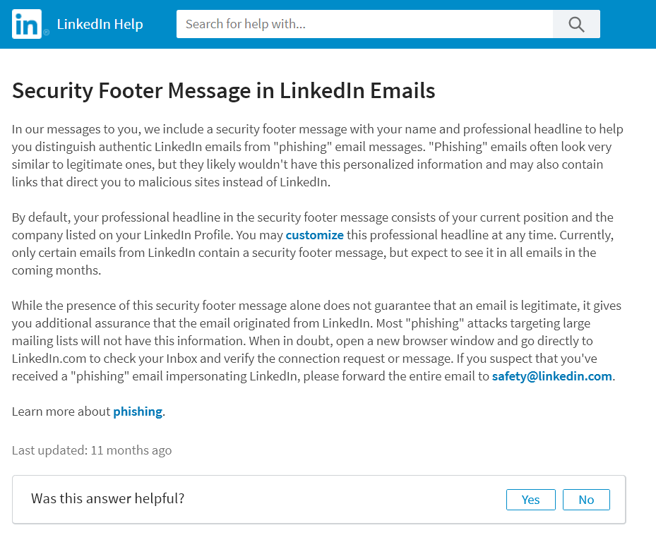 security-footer-in-linkedin-emails
