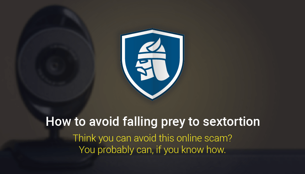 Sextorsion-scam