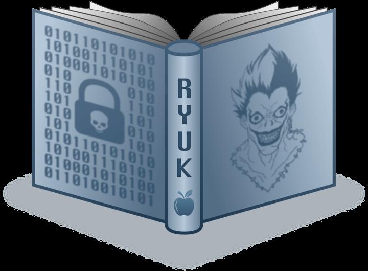 epiq ransomware attack - ryuk concept image