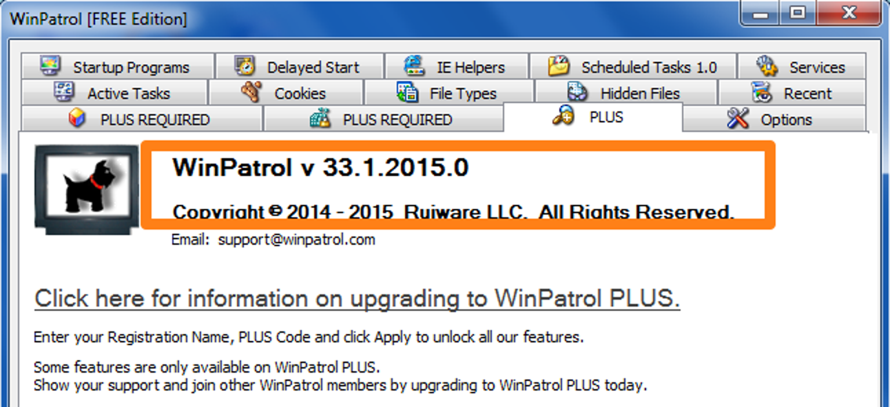 browser hijacking winpatrol