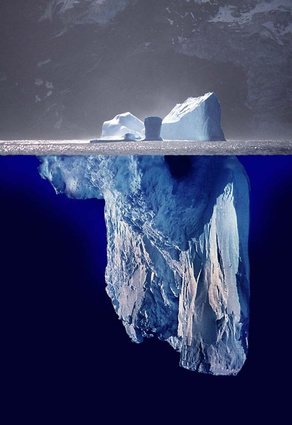 the dark web is like an iceberg