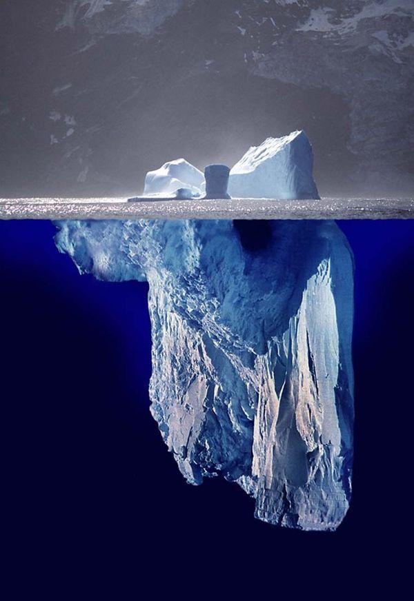 the dark web is like an iceberg