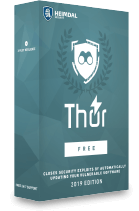 Thor Home free software updater heimdal security