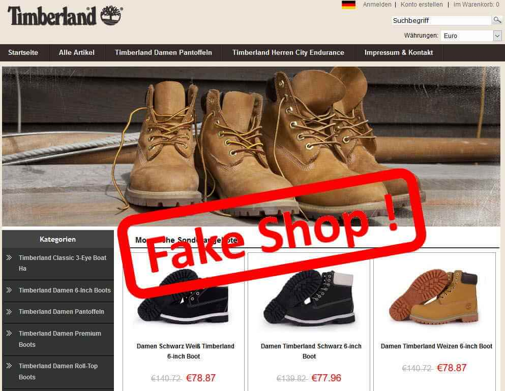 Original fake clothing online shop