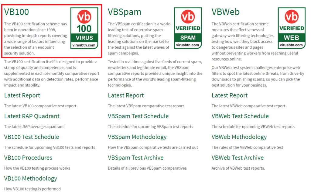 vb100-testing