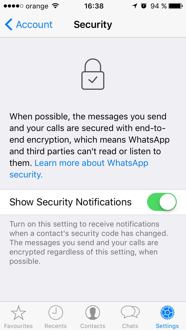 whatsapp security 3