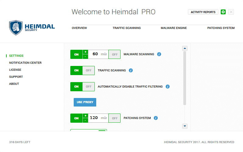 Download Heimdal PRO RC for Windows